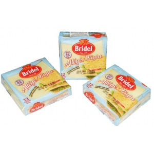 QUESO LIGHT EN TAJADAS BRIDEL  200 GR. QUESO